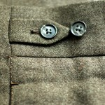 The DAKS fastener on my first pair of trousers.