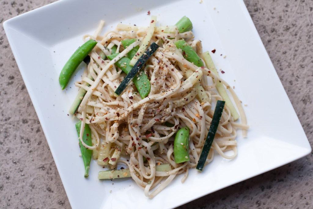 Spring Udon Noodles