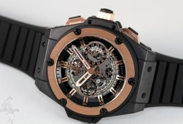 Hublot King Power Unico Ceramic King Gold
