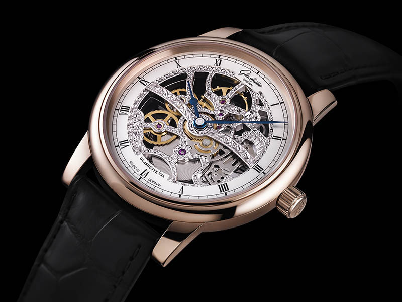 Glashütte Original Senator Skeleton