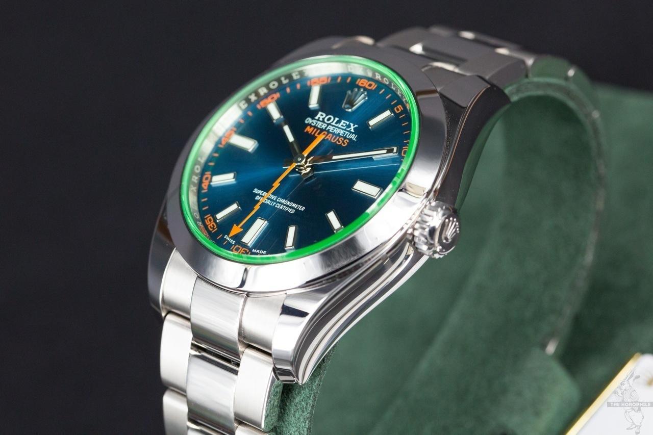 Rolex Milgauss Blue 116400GV 2