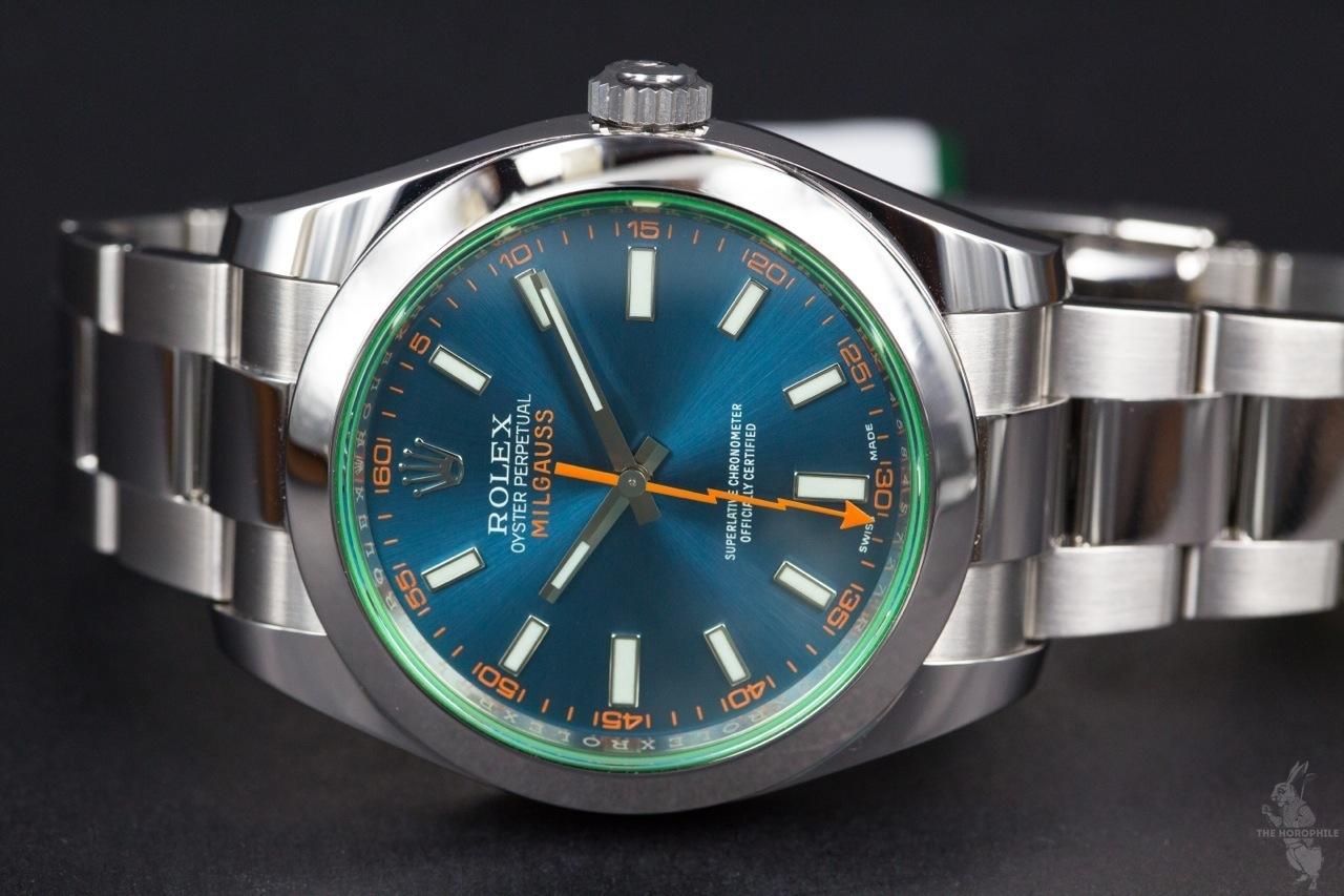 Rolex Milgauss Blue 116400GV 4