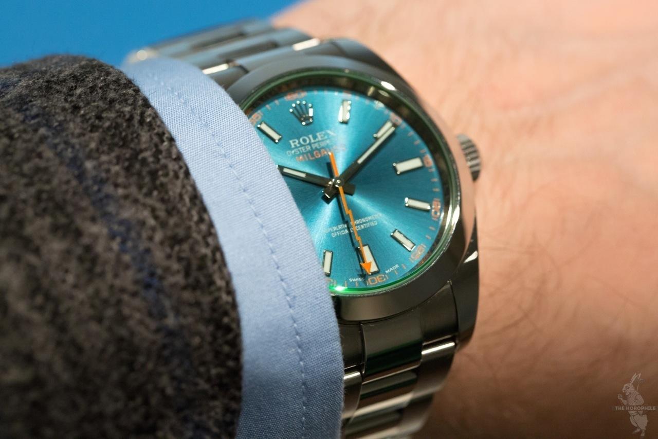 Rolex Milgauss Blue 116400GV 6