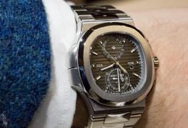 Patek Philippe Nautilus Travel Time Chronograph 5990/1A