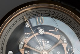 Arnold & Son Golden Wheel (on Quill & Pad)