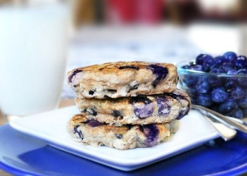 "Blueberry Pancakes - ""25 Superfoods your family just might eat [the House of Hendrix]"