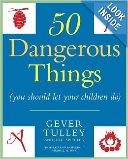 50 Dangerous Things you should let your children do.