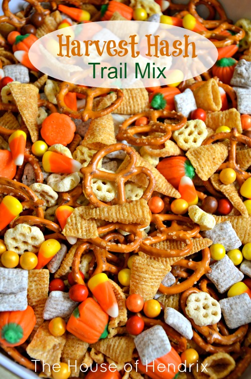 Mix Together and serve. Perfect for a Fall Snack, Halloween Party, or ...