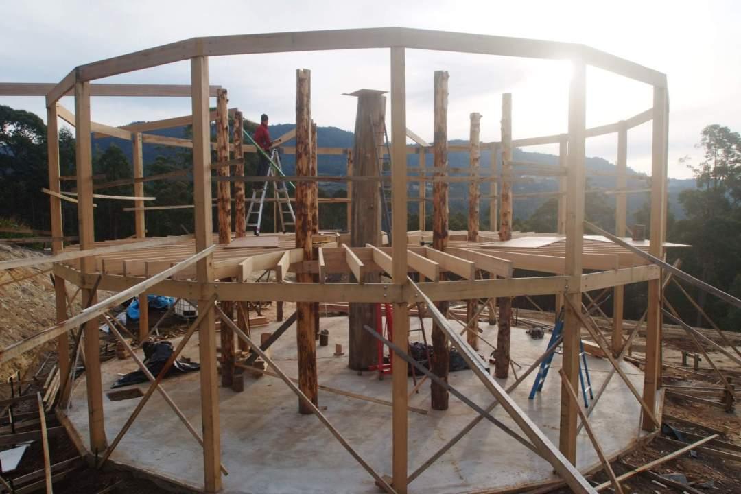 2012 The frame takes shape