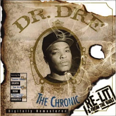 Dr Dre The Chronic Re-lit
