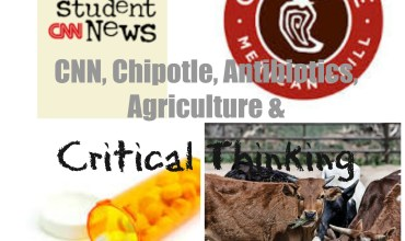 CNN Student News, Chipotle, Antibiotics, Agriculture & Critical Thinking
