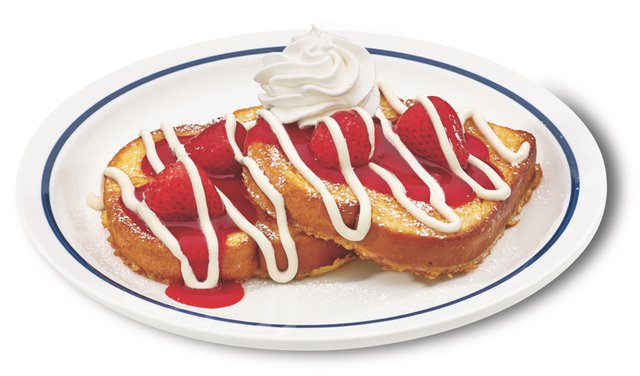 IHOP Strawberry Creme Brioche French Toast