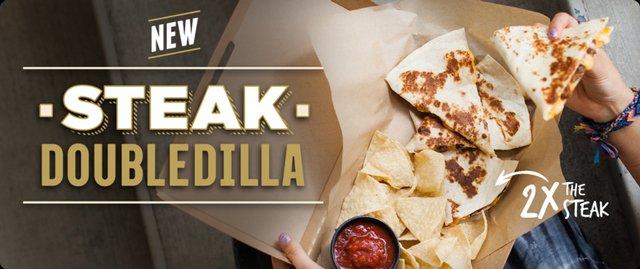 Taco Bell Steak DoubleDilla