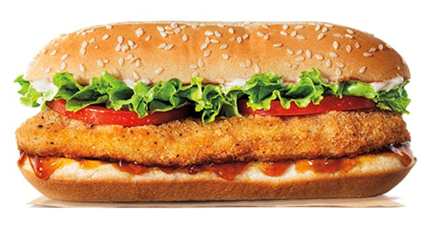 Burger King Teriyaki Original Chicken Sandwich
