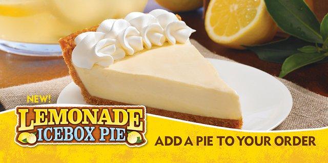 Popeyes Lemonade Icebox Pie