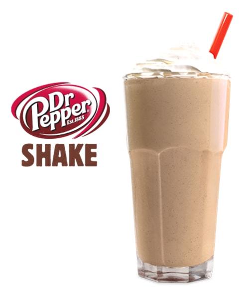 Burger King Dr Pepper Shake