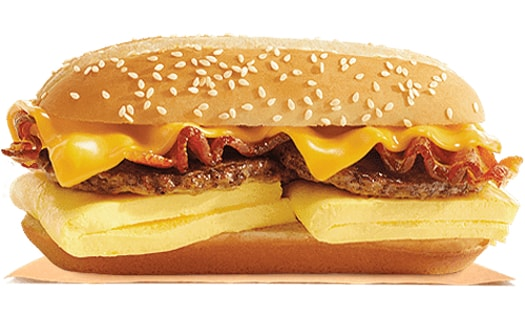 Burger King Supreme Breakfast Sandwich