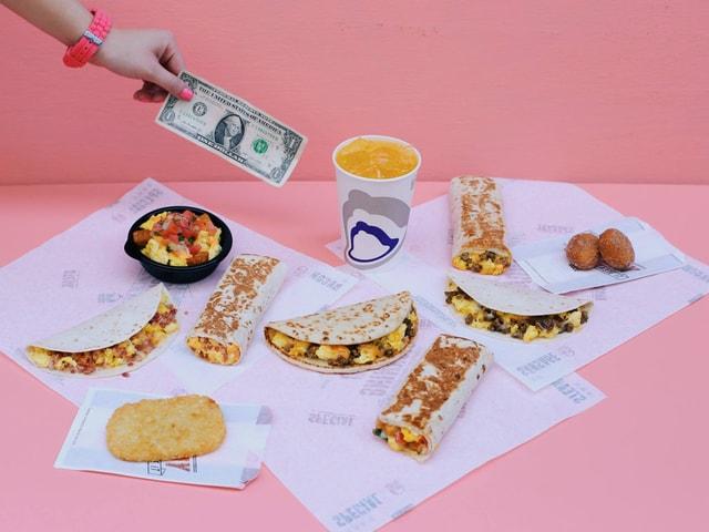 Taco Bell s $1 Morning Value Menu