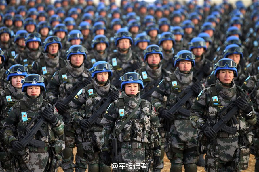 china peacekeepers