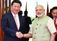 Chinese President Xi Jinping received India's Prime Minister Narendra Modi in his hometown Xi'an City and the two leaders held discussions on a wide range of issues