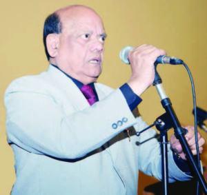 Surender Sharma, the king of poets