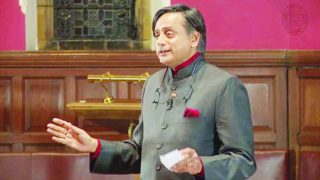 Shashi Tharoor spoke  recently at the Oxford Union Society  on the impact of colonialism on the Indian economy and said Britain should accept that it owed India reparations