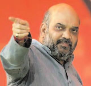 AMIT SHAH REVAMPS BJP