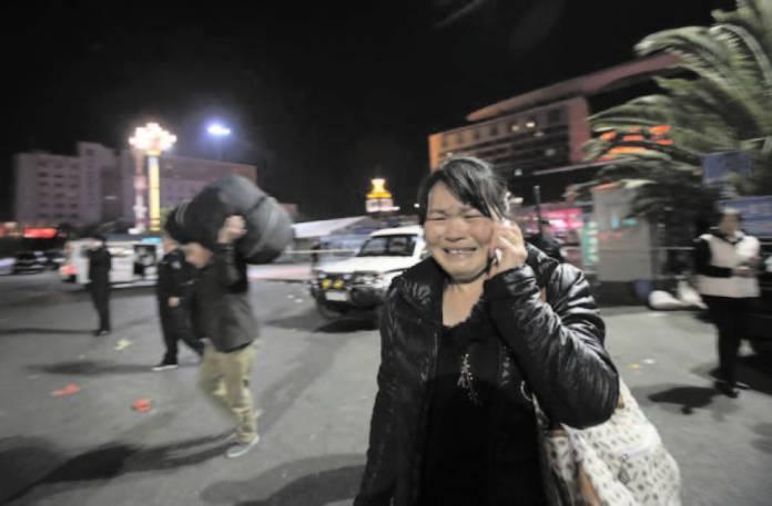 China police shoot man dead