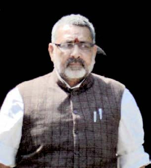 Giriraj Singh had kicked up a row with his remarks asking whether Congress would have accepted Sonia Gandhi's leadership had she not been white-skinned.
