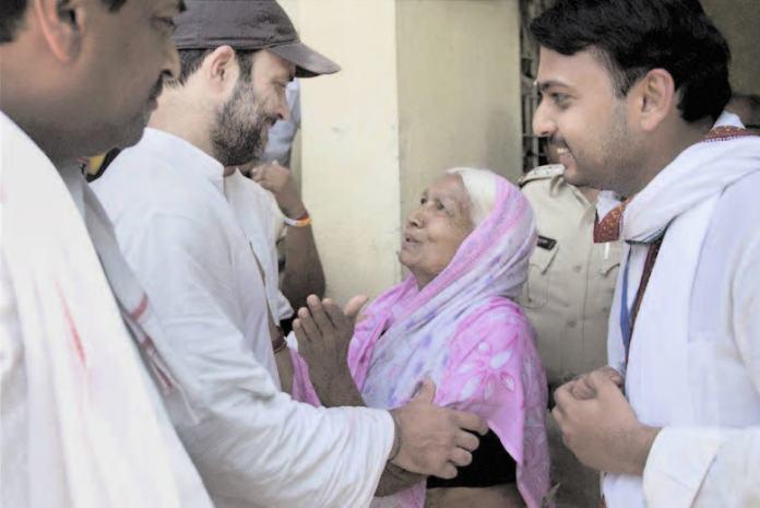 Kisan Padyatra- Rahul walks for farmers