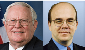 Congressmen Joseph Pitts and Jim McGovern, co-chairs of the Tom Lantos Human Rights Commission