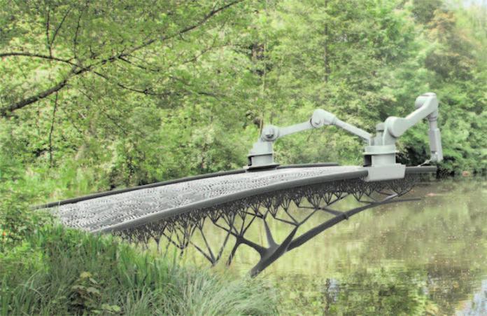 AMSTERDAM TO GET 3D-PRINTED BRIDGE