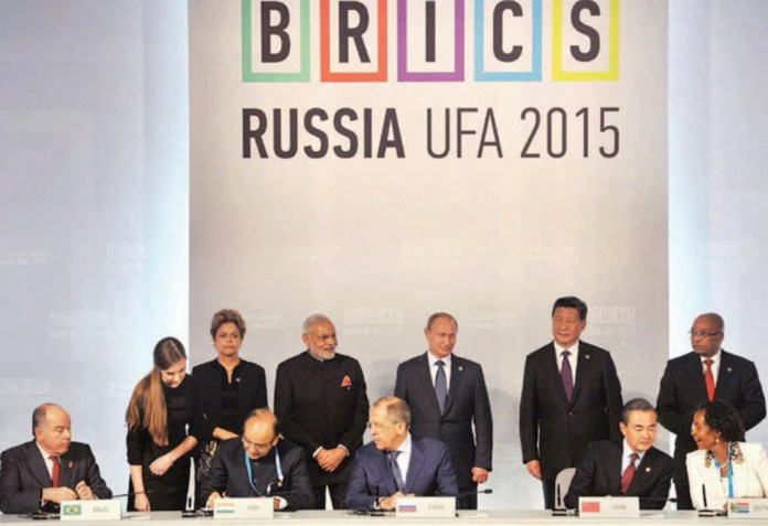 Narendra Modi seeks closer cooperation within BRICS and proposes a 10-pt initiative to further engagement.