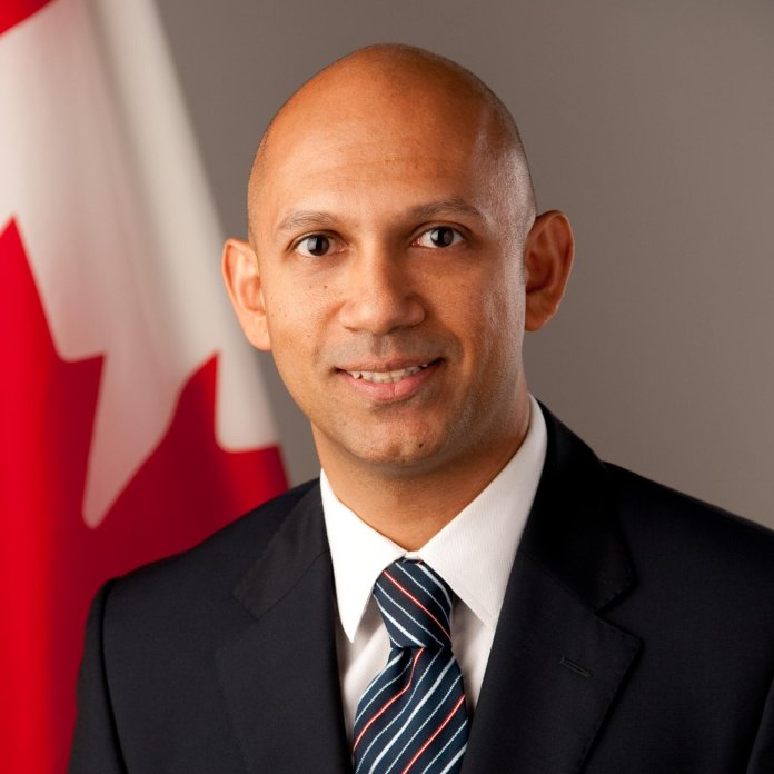 Nadir Patel, Canadian high commissioner to india - Source Twitter Image