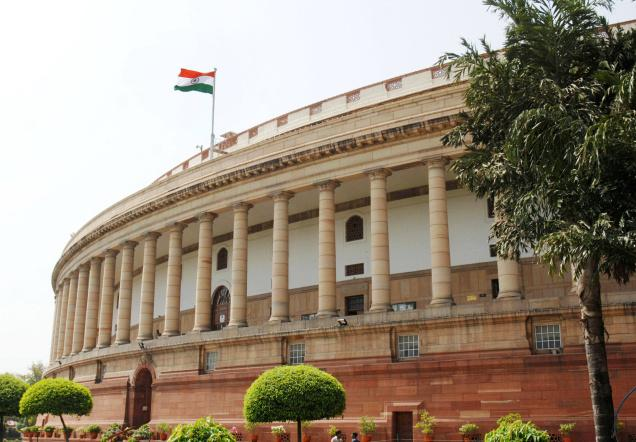 India's Parliament building . All is not well within