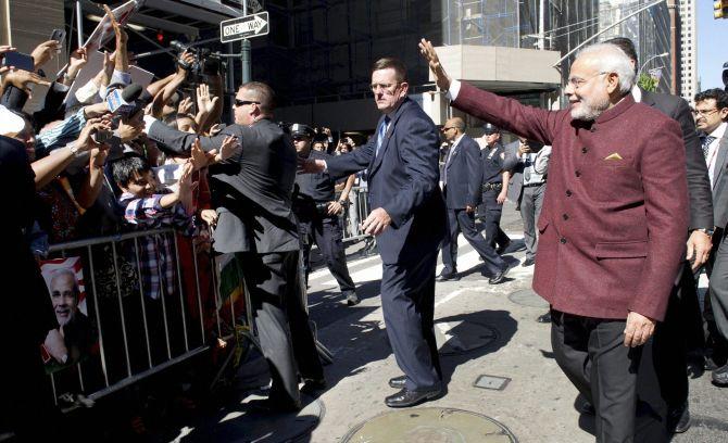 PM Modi's 1st Visit to US - File Photo - PTI