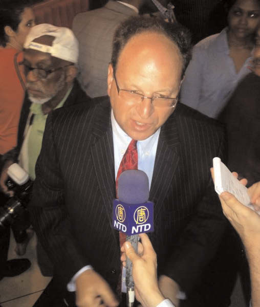 Barry Grodenchik declares victory