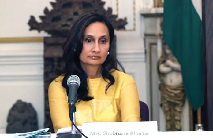 Shobhana Bhartia, Chairperson & Editorial Director of Hindustan Times Group said that India matters a lot to the US now and media played a vital 'constructive' role for that, as it helped 'thaw' the not so good relations between the two countries.