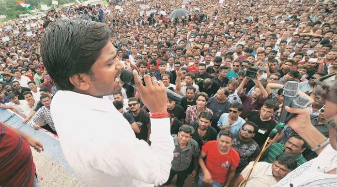 Patidars in Gujarat demand reservation