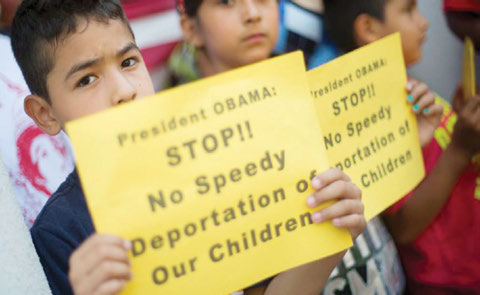 Children of Immigrants protest deportations