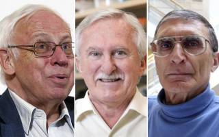 Dr. Tomas Lindahl, Dr. Paul Modrich and Dr. Aziz Sancar were jointly awarded the Nobel Prize in Chemistry 2015. Photo- Reuters
