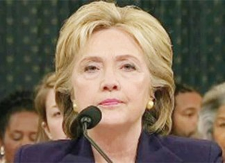 Hillary Clinton maintained her cool, only showing a little impatience at times, during the grilling by Republican Congressmen at the 11 hour long congressional hearing on Benghazi