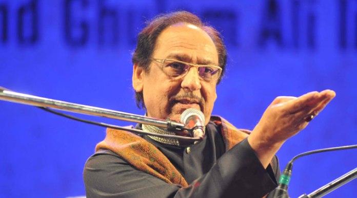 Legendary Ghazal singer from Pakistan, Ustad Ghulam Ali