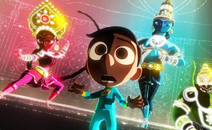 Animated Superhero Movie On Hindu Deities | Indian American Director Sanjay Patel