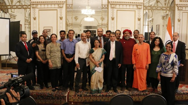 Representatives of organizations participating in the second IYD with the Consul General Riva Ganguly Das