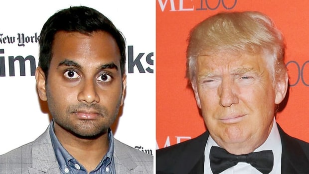 Aziz Ansari- Donald Trump Makes Me Afraid for My Family