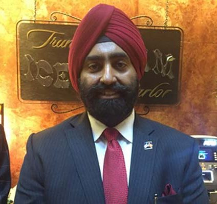 Mr Jasdip Singh Jasse is the founder of Sikhs of America. (File Photo)