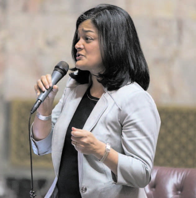 Pramila Jayapal has swept an open Congressional primary in Washington State with 38.2 per cent of the votes and could make history as the first woman from the community to be elected to the US House of Representatives, if she wins the November general election. (Forbes image)
