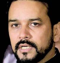 Anurag Thakur, BCCI chief