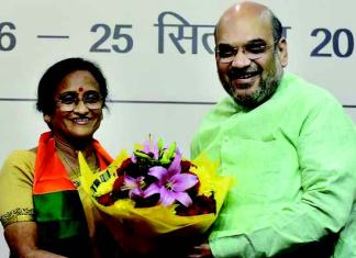 Rita Bahuguna Joshi, former Uttar Pradesh Congress chief, joined BJP months before assembly elections.